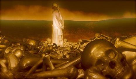 De dood is een vijand van de mensheid allen die verblijven in hades en sjeool